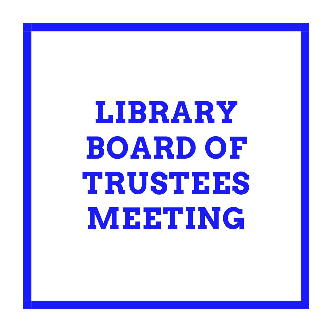 Library Board of Trustees – Batesville Memorial Public Library